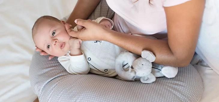 to sleep on nursing pillows