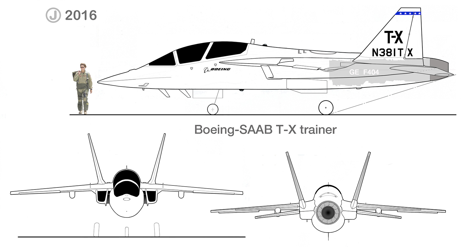 Boeing Saab T X Advanced Usaf Trainer Plans