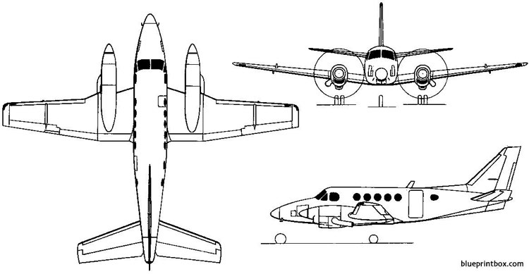 beech model 100 king air 1969 usa Plans Free Download
