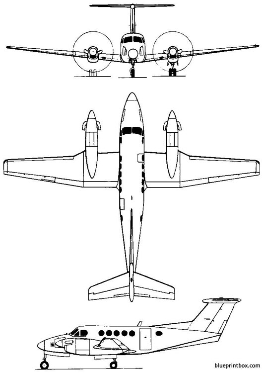 beech model 200 super king air c 12 1972 usa Plans