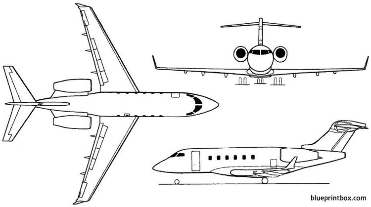 bombardier bd 100 challenger 300 2001 canada Plans