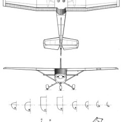 Airplane Wing Parts Diagram Schematic Wiring Symbols Cessna 152 Plans - Aerofred Download Free Model