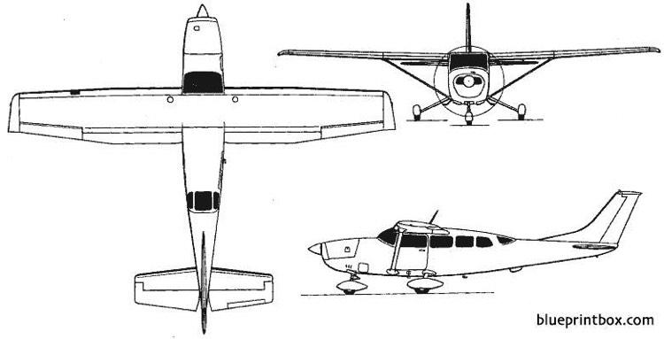 cessna model 206 super skywagon 207 stationair 1964 usa