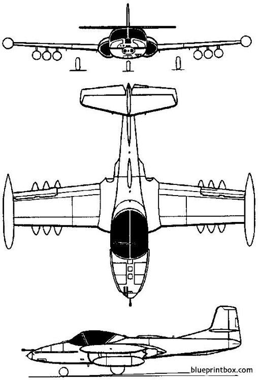 cessna model 318 t 37 a 37 dragonfly 1954 usa Plans