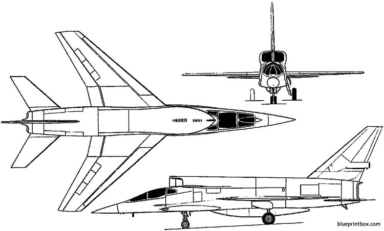 north american yf 107 ultra sabre 1957 usa Plans
