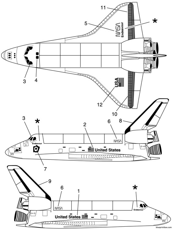 Space Shuttle Measurements Plans