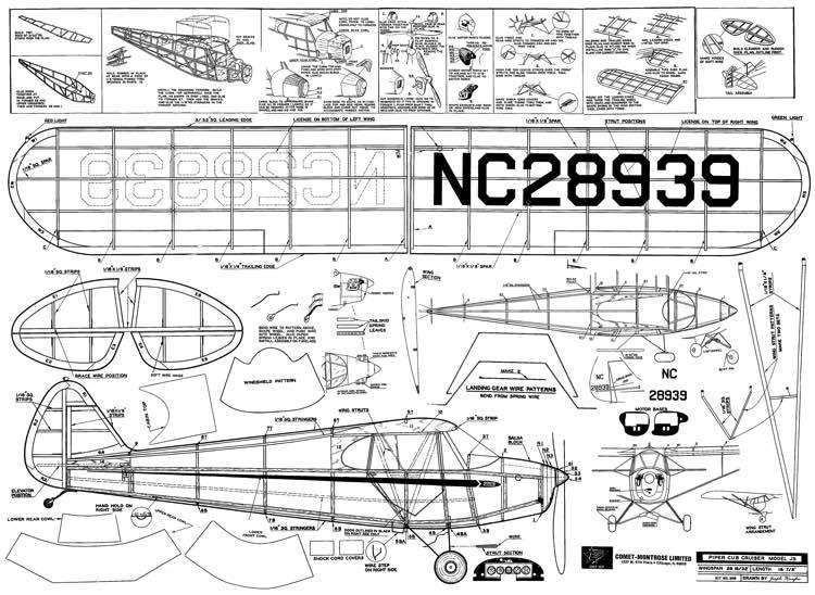 Piper Super Cub Pa 18 Agricultural Pa 18a Parts Catalog