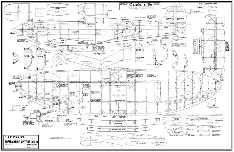Spitfire Paper Model Free Download