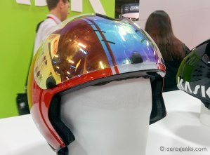 Kask Bambino with the new magnetic visor