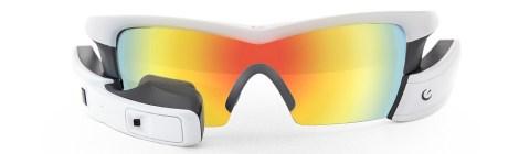 Recon Jet - White Frame - Spectral Mirror Polarized Lens