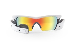 Recon Jet - White Frame - Spectral Mirror Polarized Lens