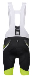 SANTINI SS15_Interactive 2.0 bib-shorts - rear- yellow