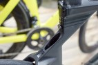With the draft box removed you can see the secondary seat post location