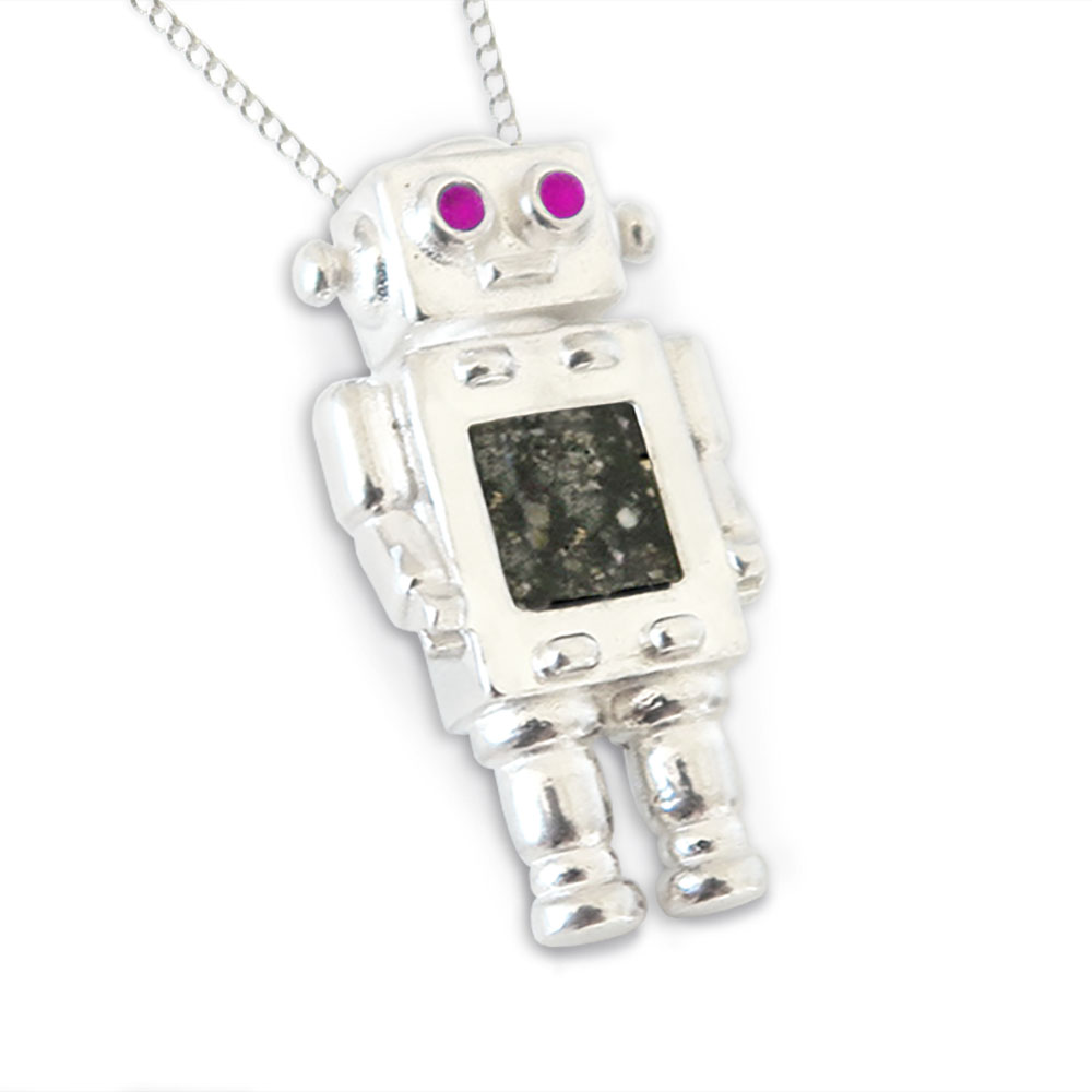 Mrs Robot Moon Rock Pendant