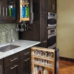 Kitchen Sink Base Cabinet Sizes Hoods Filler Pullout Organizer With Wood Adjustable Shelves ...
