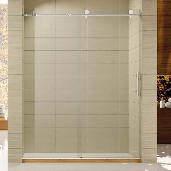 Frameless Shower Door (K-K04C) - Aeromax Building Supplies