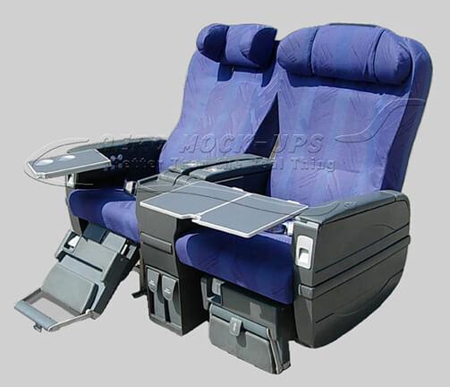Business Class Seats  Aero MockUps Inc