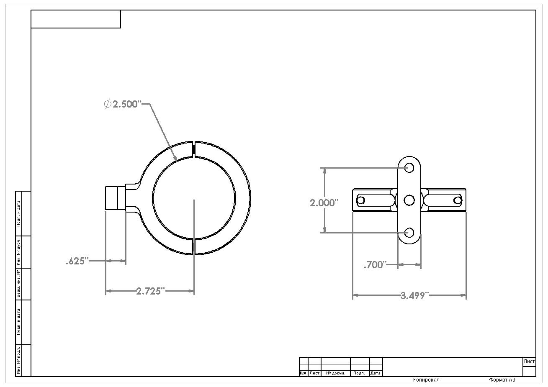 aeromotive fuel filter bracket