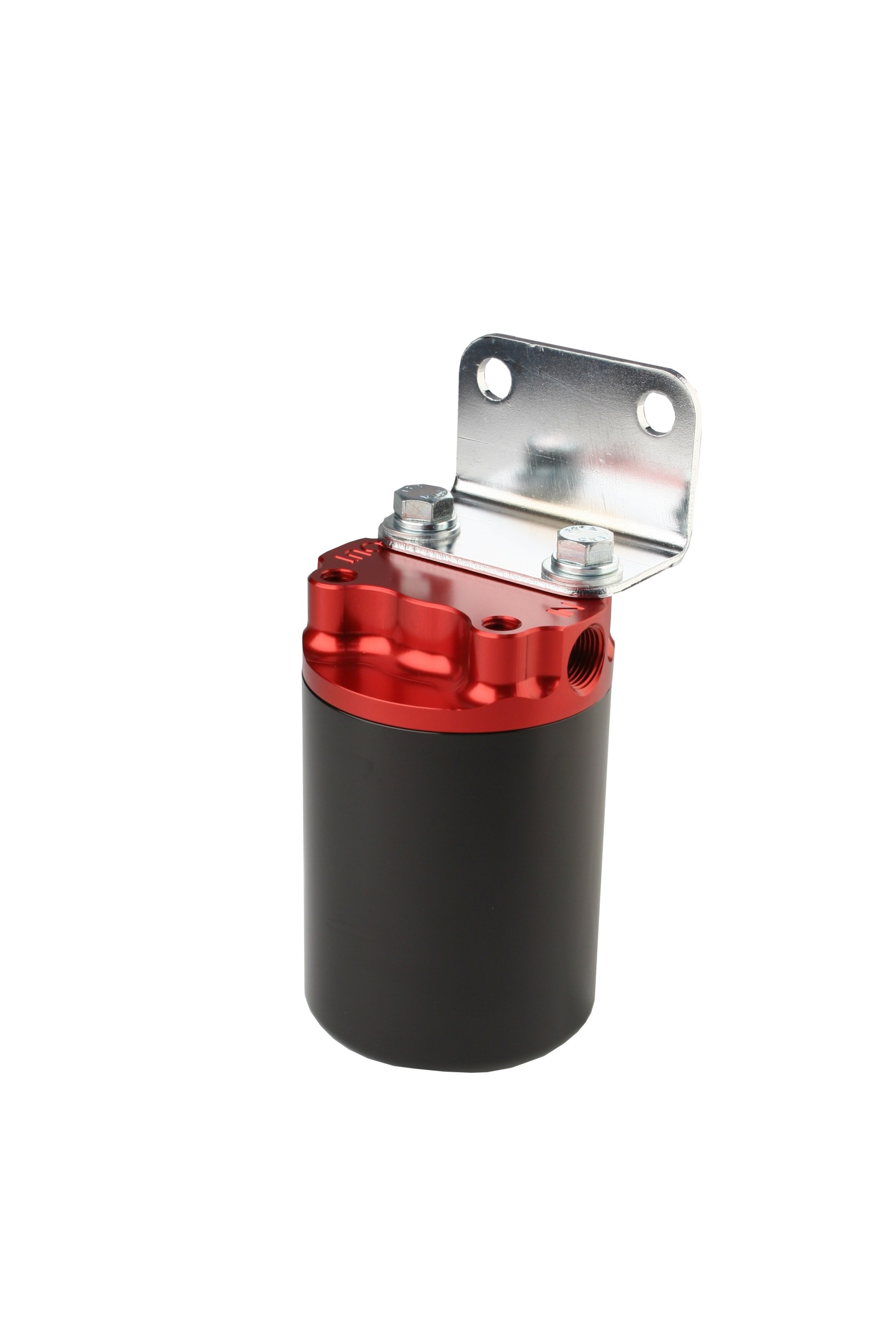 hight resolution of 100 micron red black canister fuel filter