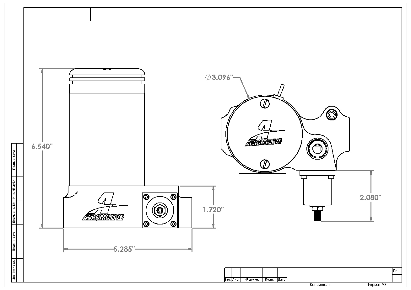 hight resolution of a2000 carbureted fuel pump