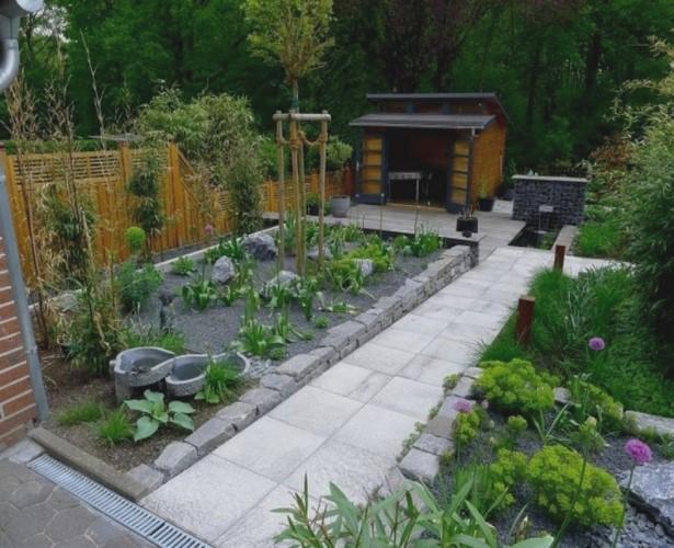 Relativ Gartengestaltung Kleine Gärten Ohne Rasen   Hecken Ideen Garten QW97