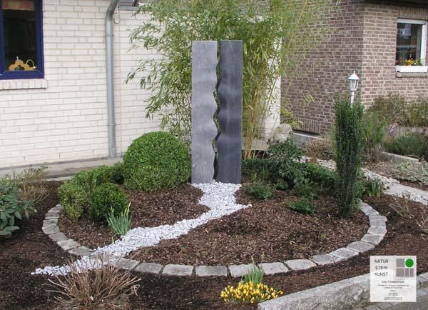 Beetgestaltung vorgarten