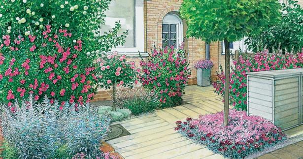 Welche pflanzen fr sonnigen vorgarten