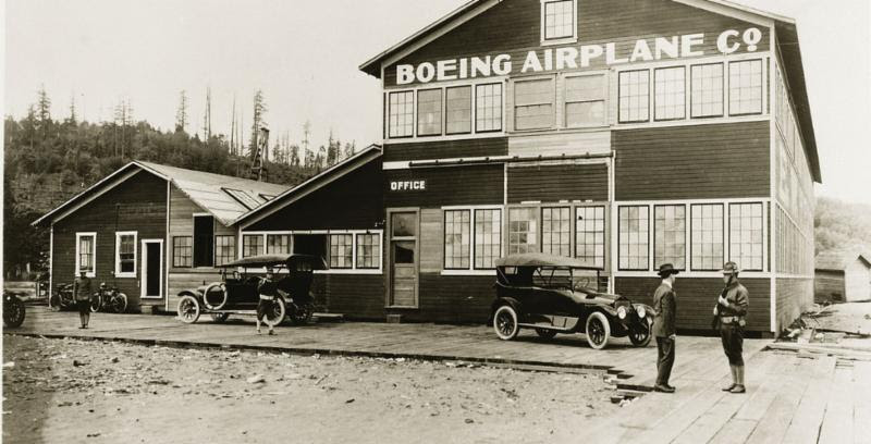 Boeing Airplane Company 1917