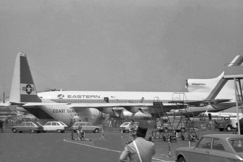 02 Lockheed HC-130B ''60-0311'' 1344 USCG, Lockheed L 1011-1 N301EA Eastern & Lockheed L 1329 Jetstar 8 N12241 Eastern