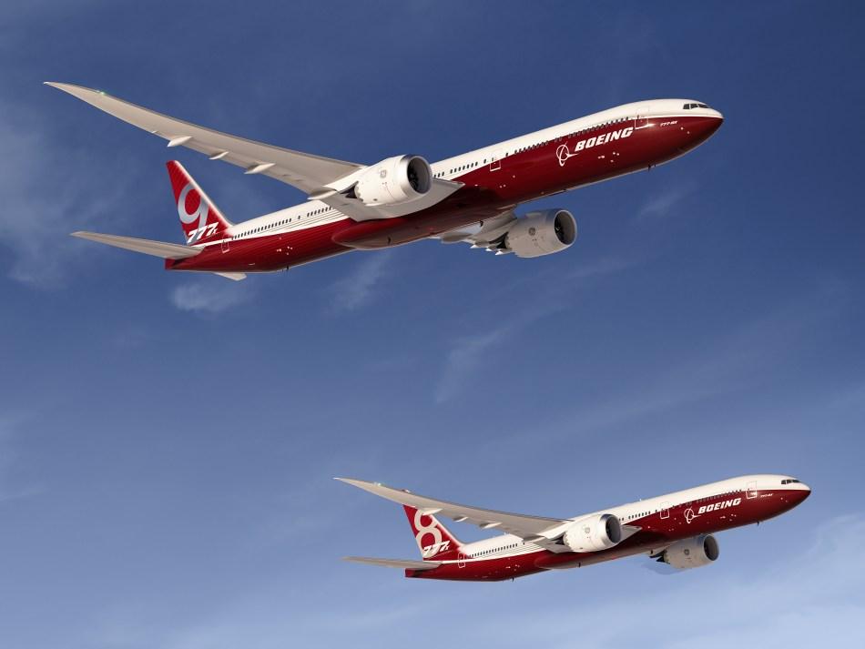 Boeing 777-8X & 777-9X Artwork
