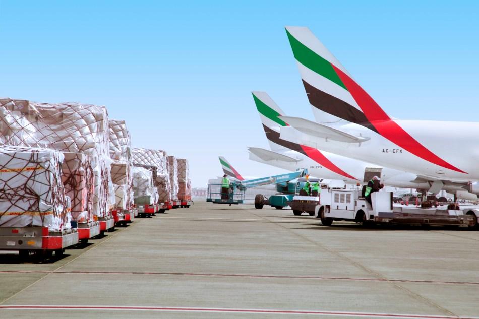 Emirates SkyCargo Aircraft Line med res