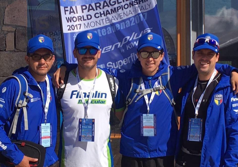 Selección Ecuatoriana de Parapente 2017