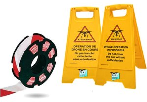 matériel de signalisation au sol