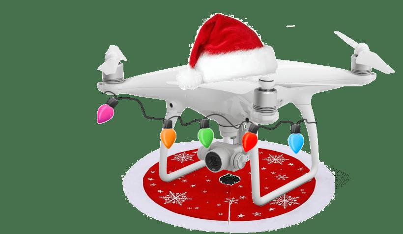 Drone à Noël