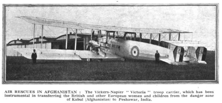 Rescates aéreos en Afganistán Flight, 3 de enero de 1929 (www.flightglobal.com)