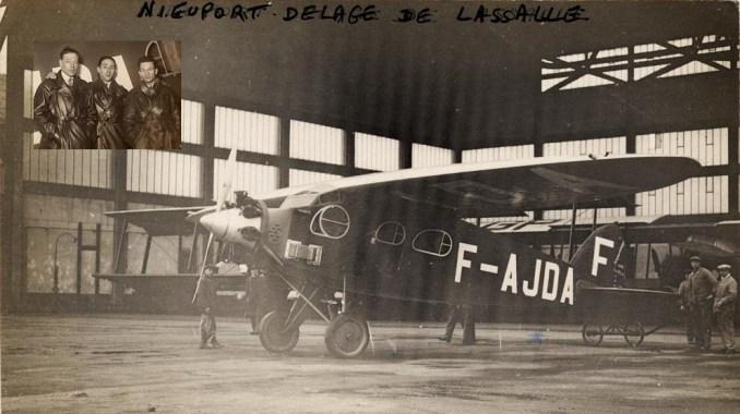 Le Nieuport-Delage NiD-641 avec lequel il a trouvé la mort en Libye, dans un raid de Paris à Saigon