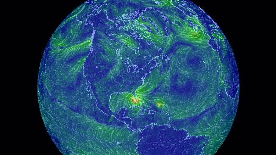 Site Of The Week Earth Wind Map Aerosavvy