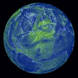 Earth Wind Map: earth.nullschool.net/