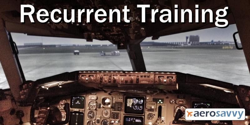 Recurrent Training - AeroSavvy