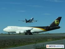 UPS 747 departing Anchorage - 15 More Top 10 Call Signs - AeroSavvy