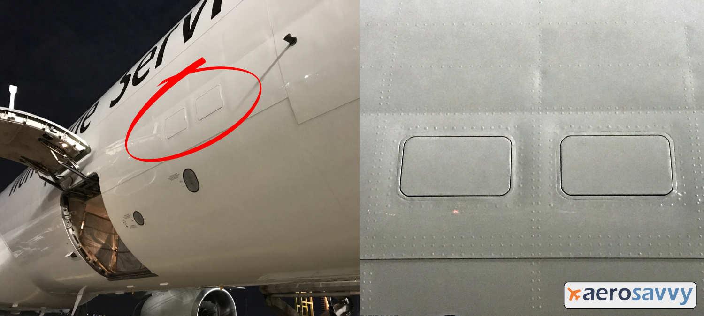 Pressurization - Negative pressure differential relief doors - AeroSavvy
