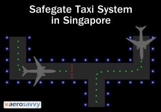 Singapore Safegate System - Airport Lights - AeroSavvy
