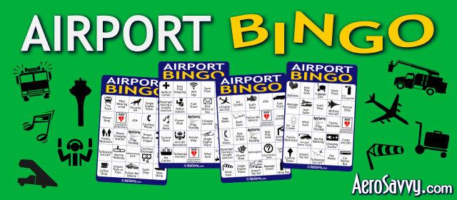 AeroSavvy Airport Bingo