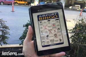 AeroSavvy Airport Bingo iPad