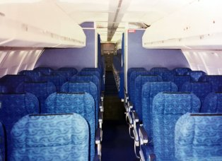 727 Cabin - UPS Passenger Flights - AeroSavvy