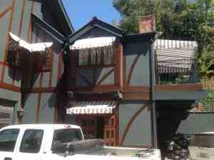 Stationary Awnings matching across home