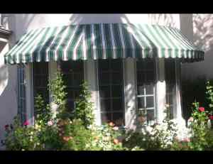 stationary awnings in los angeles aero shade