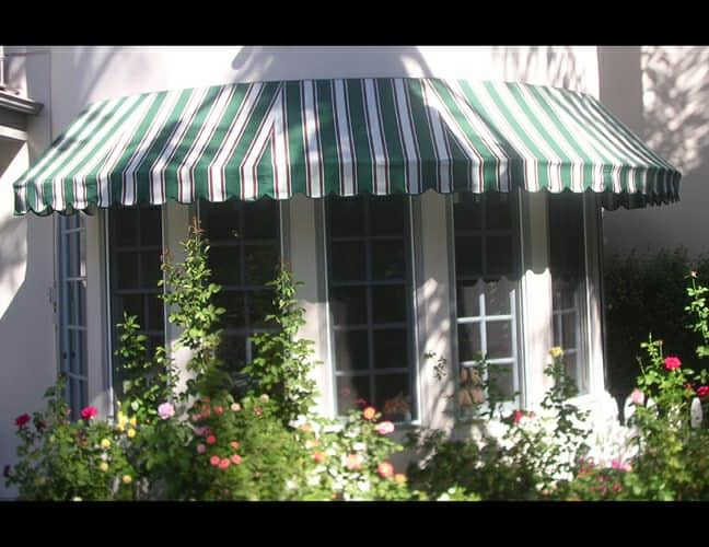 Stationary Awnings Custom Window Shades Aero Shade Co Los Angeles