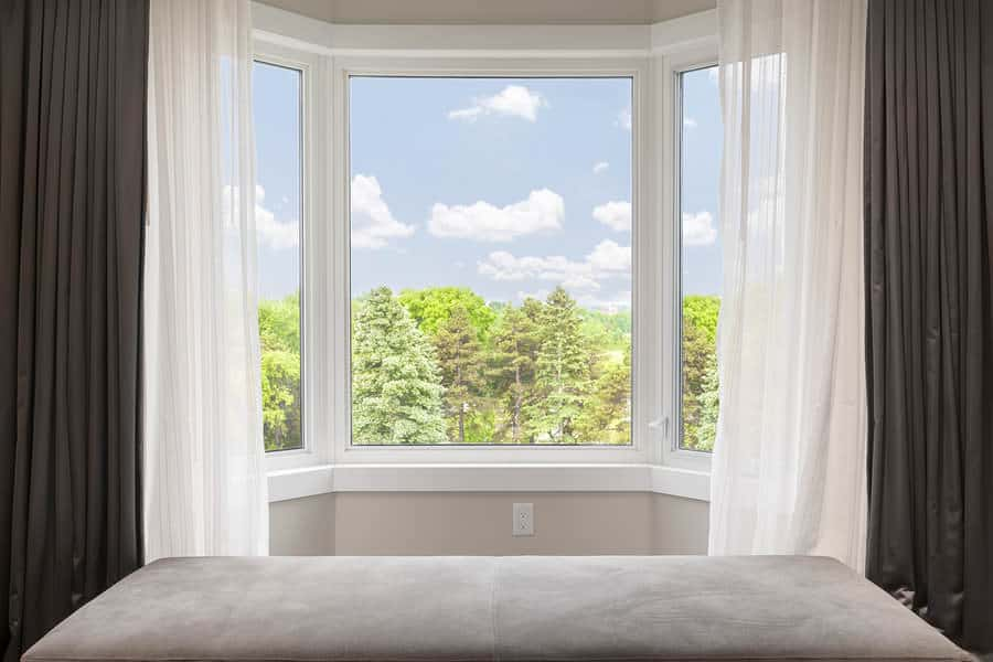 Reviving the room with Bay Window Curtains