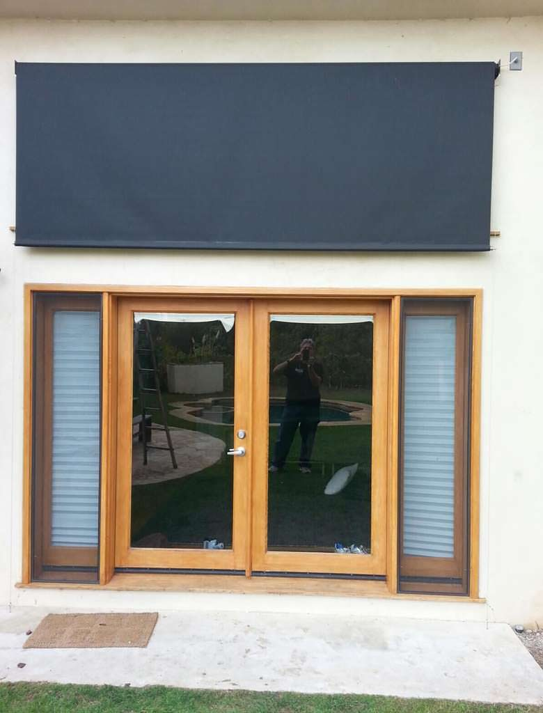 Custom Exterior Roller Shades in Los Angeles - Free Estimates